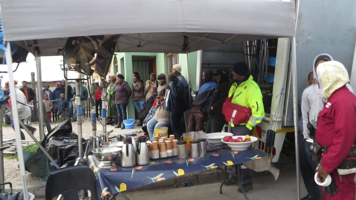 WYWL Khayalitsha onlookers
