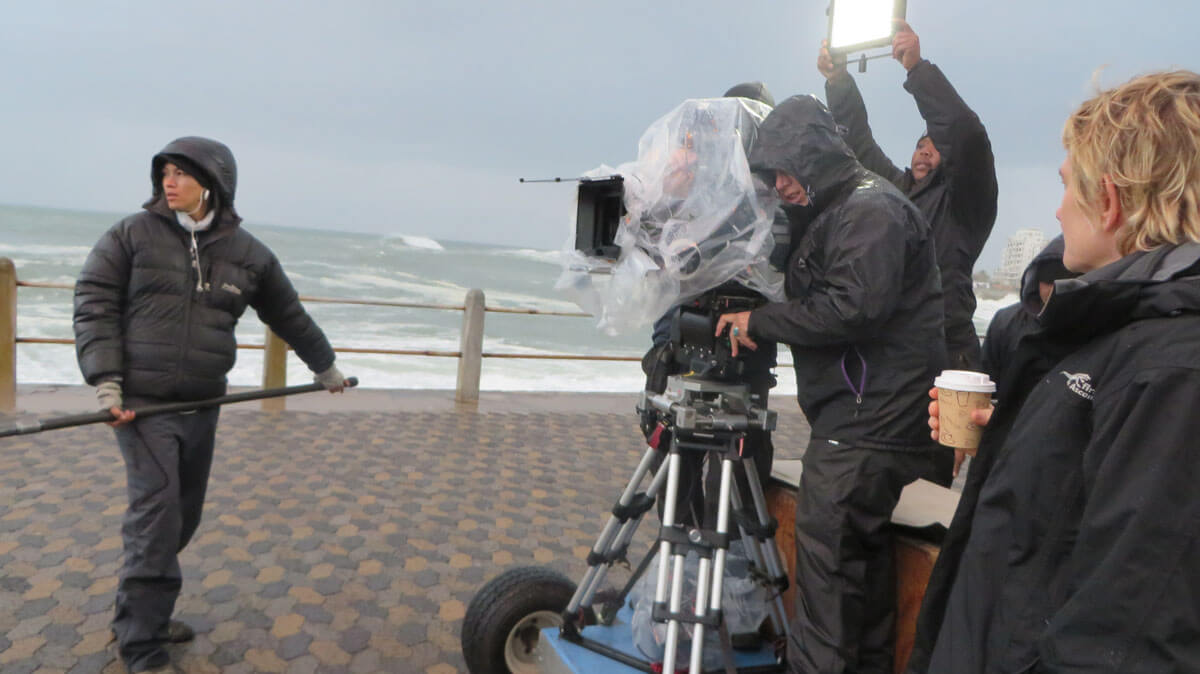 WYWL The Promenade camera and boom