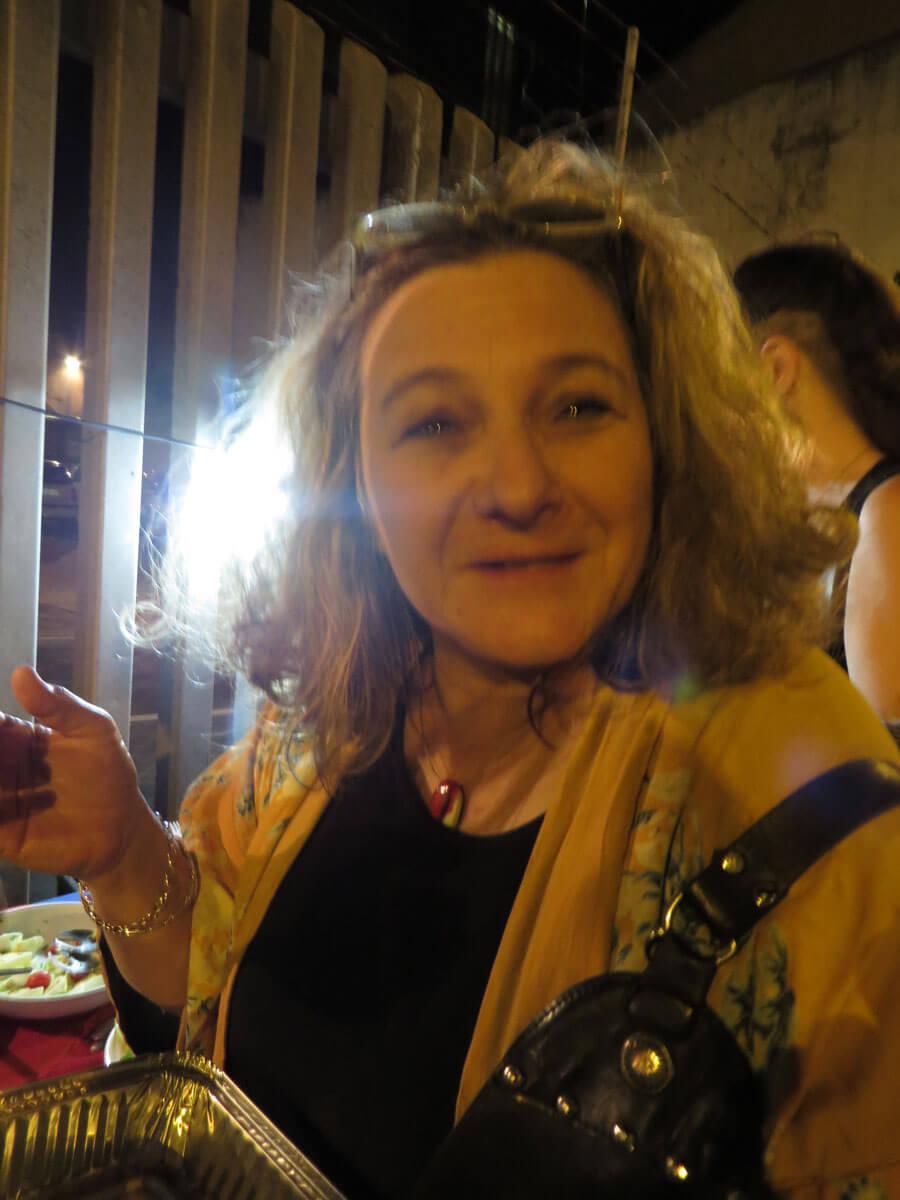 WYWL Burlesque extra Vanessa Herman (scriptwriter)