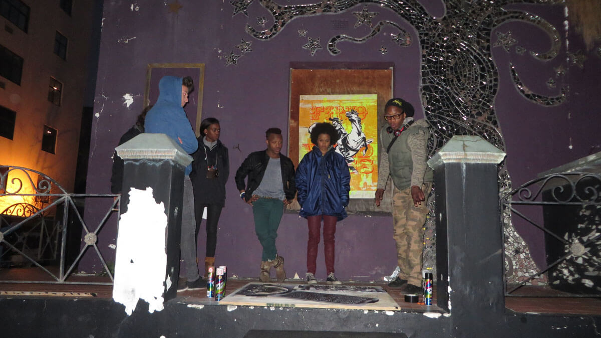 WYWL Loop St Sakhumzi (2nd unit dir) with cast