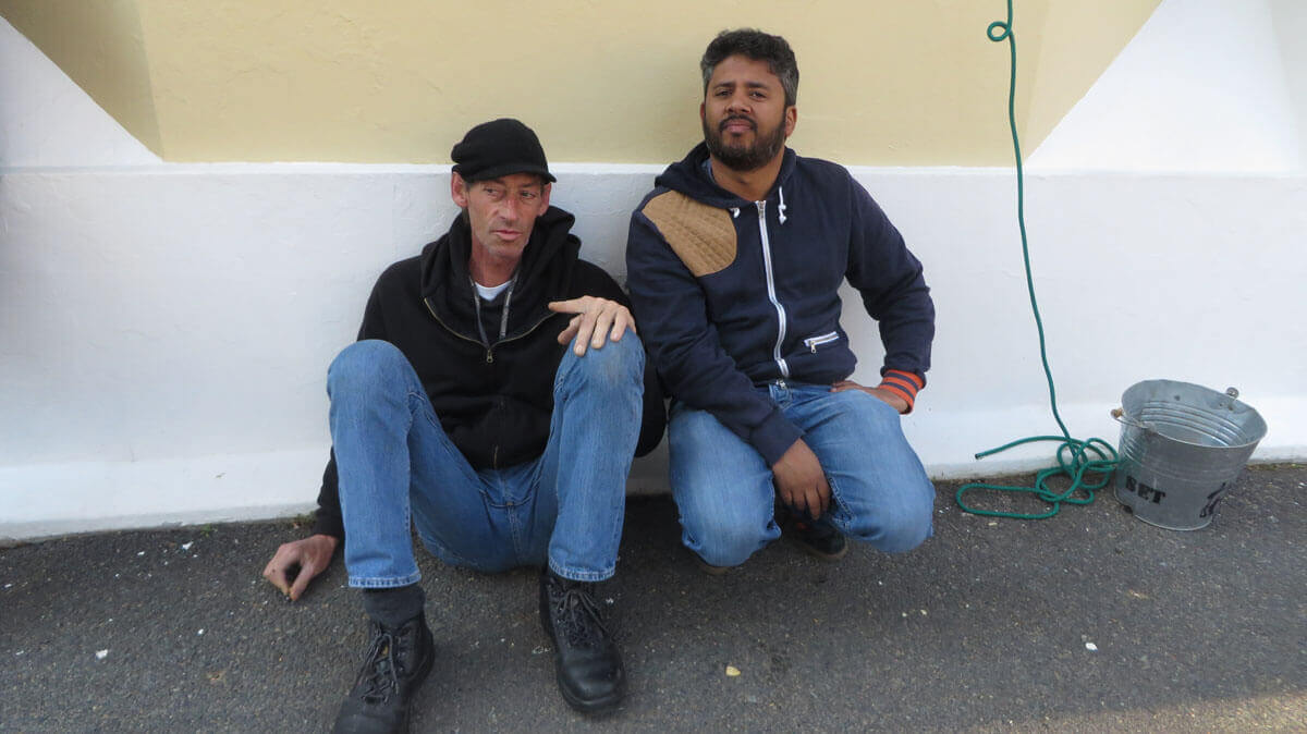 WYWL Marc Rabe (lights) and Warren Gray (production designer)