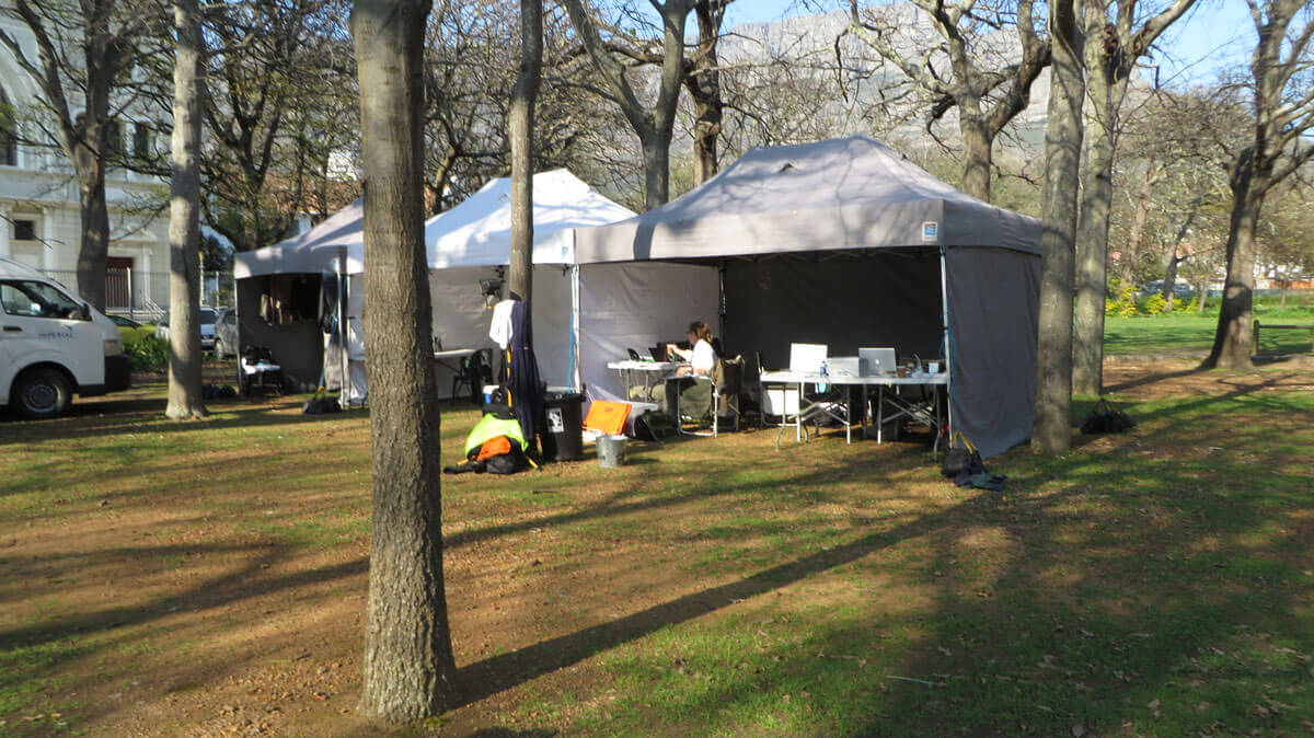 WYWL base camp in The Gardens 3
