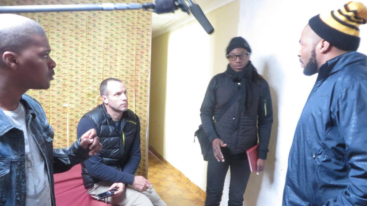 WYWL Sakhumzi with Othello, Sylvain and Andile