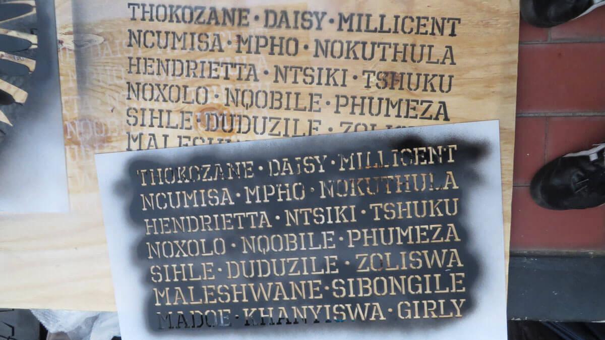 WYWL Stencil names
