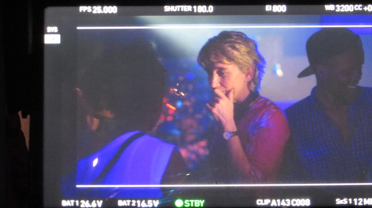 WYWL Crew Bar Catherine Stewart (director) in shot