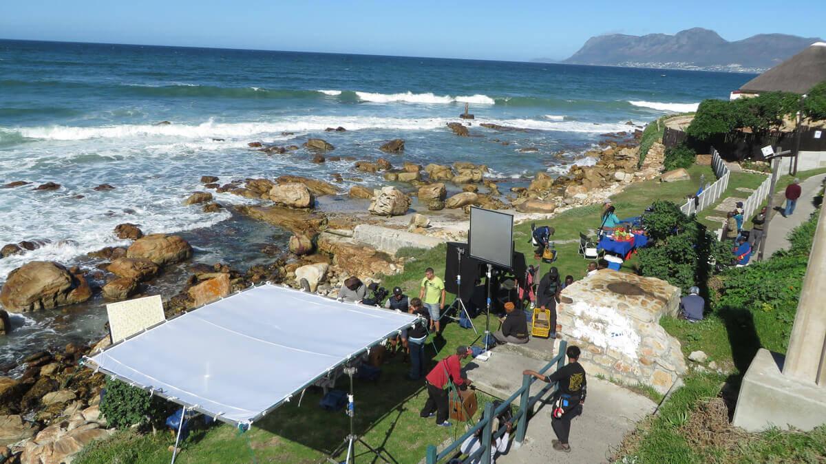 WYWL St James Passage on set
