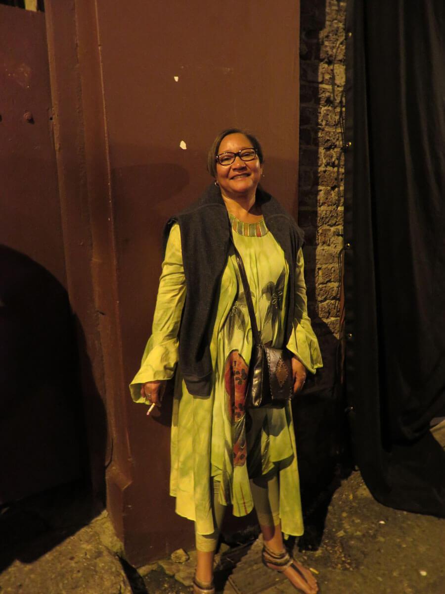 WYWL Burlesque OIA administrator Theresa Raizenberg as an extra