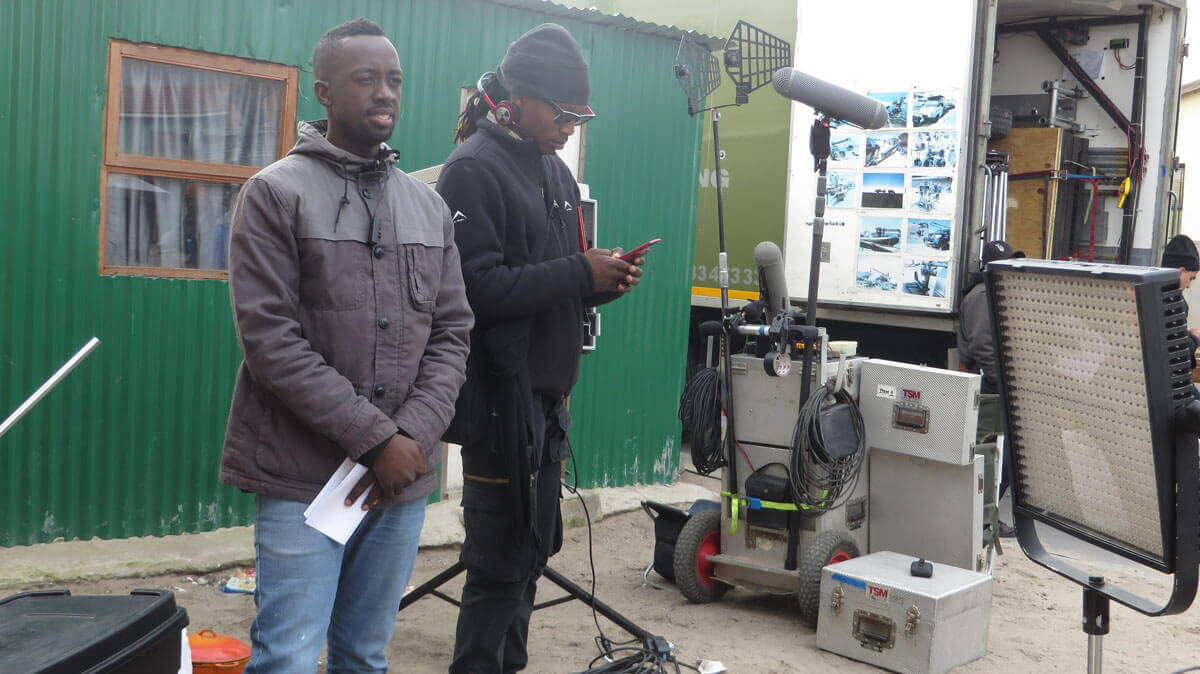 WYWL Khayalitsha Loyolo Qonongo (3rd AD) and Sakhumzi Mati (2nd unit dir)
