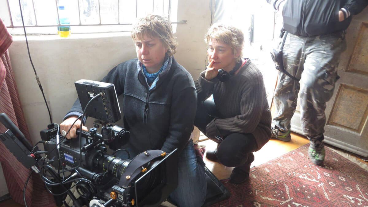 WYWL Khayalitsha Amelia Henning (cinematographer) and Catherine Stewart (director)