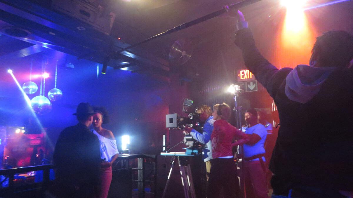 WYWL Crew Bar Petronella (Asanda) and Thishiwe Ziqubu (Shado) on camera
