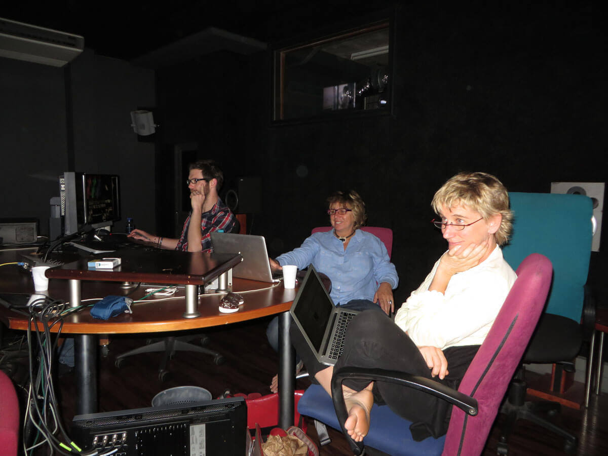 WYWL Refinery Base Light grade Terry, Amelia Henning (cinematographer) and Catherine Stewart (director)